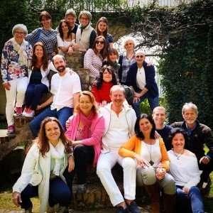 Il gruppo felice alla fine del seminario